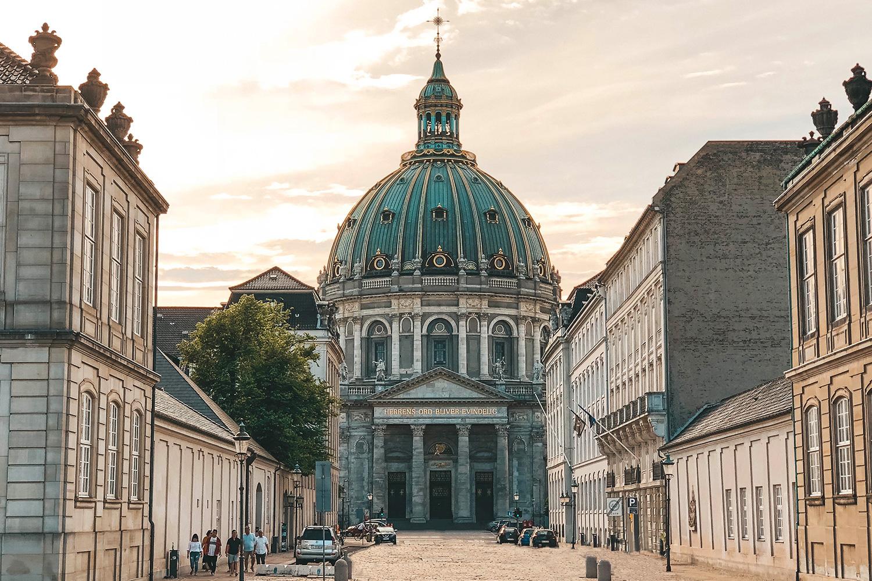 L'église Marmorkirken de Copenhague