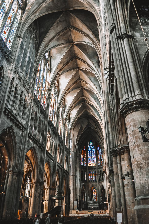 Intérieur de la Cathédrale Saint-Étienne de Metz