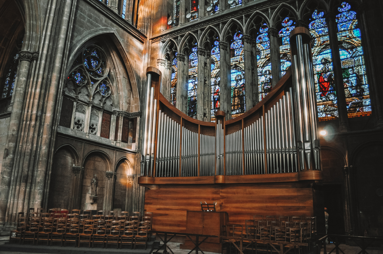 L'orgue majestueux de la cathédrale