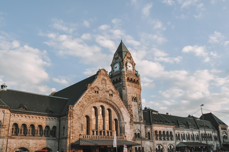 La gare ferroviaire de Metz, souvent considérée comme la plus belle de France !