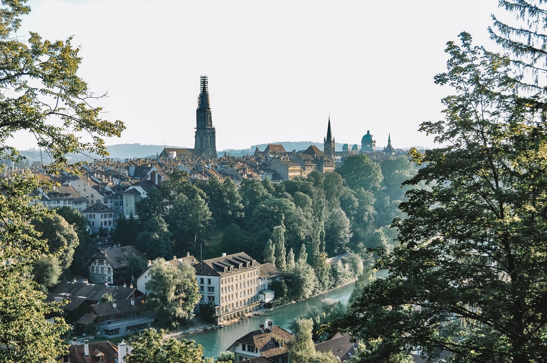 Arrivée sur Berne, une magnifique surprise !