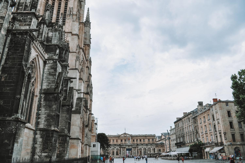 Arrivée dans la magnifique ville de Bordeaux