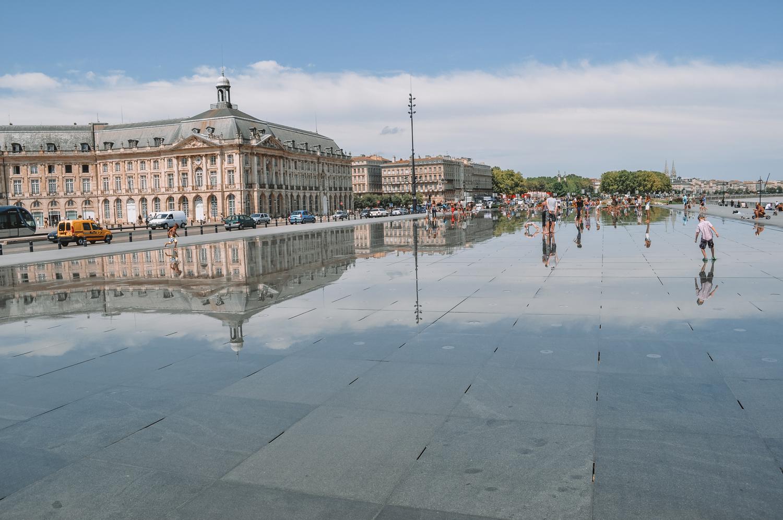 DescriptionLe miroir d'eau de Bordeaux