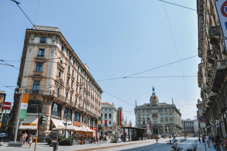 Direction le centre-ville de Milan