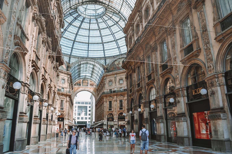 Balade sous la Galleria Vittorio Emanuele II