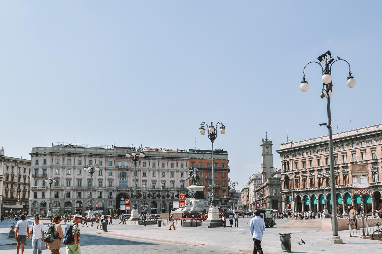 Fin de la visite de Milan sous un soleil de plomb