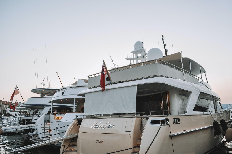 Des bateaux tous plus luxueux les uns que les autres