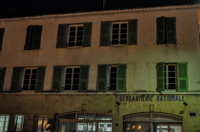 La célèbre gendarmerie de Saint-Tropez