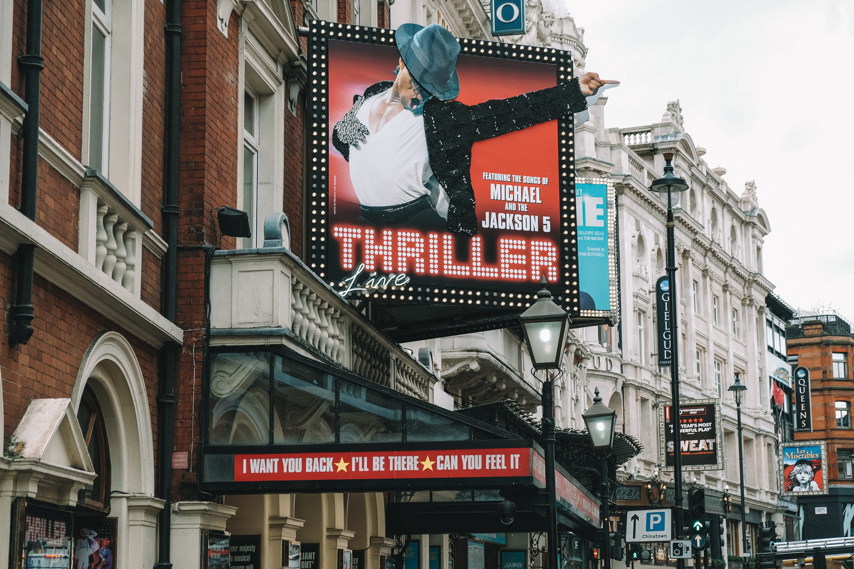 """Affiche de la comédie musicale """"Thriller"""""""