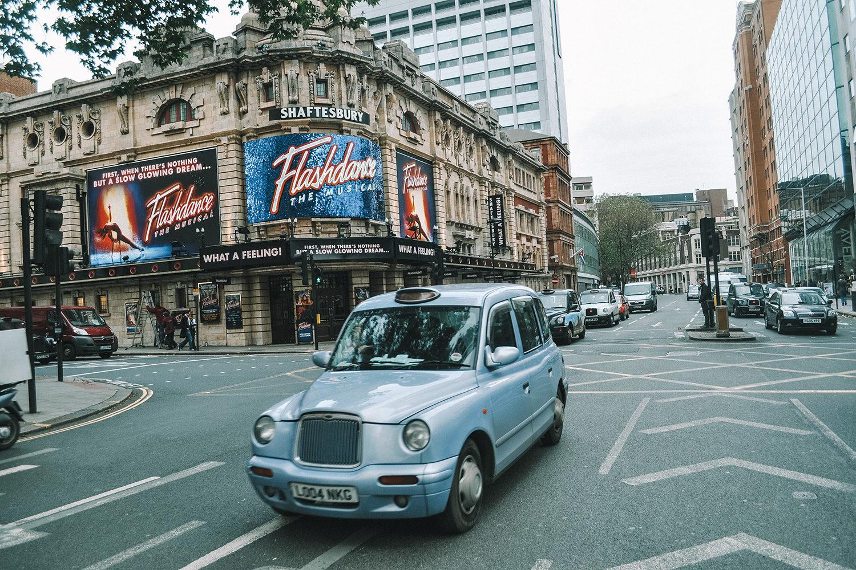 Photo prise lors du premier séjour à Londres de Julien