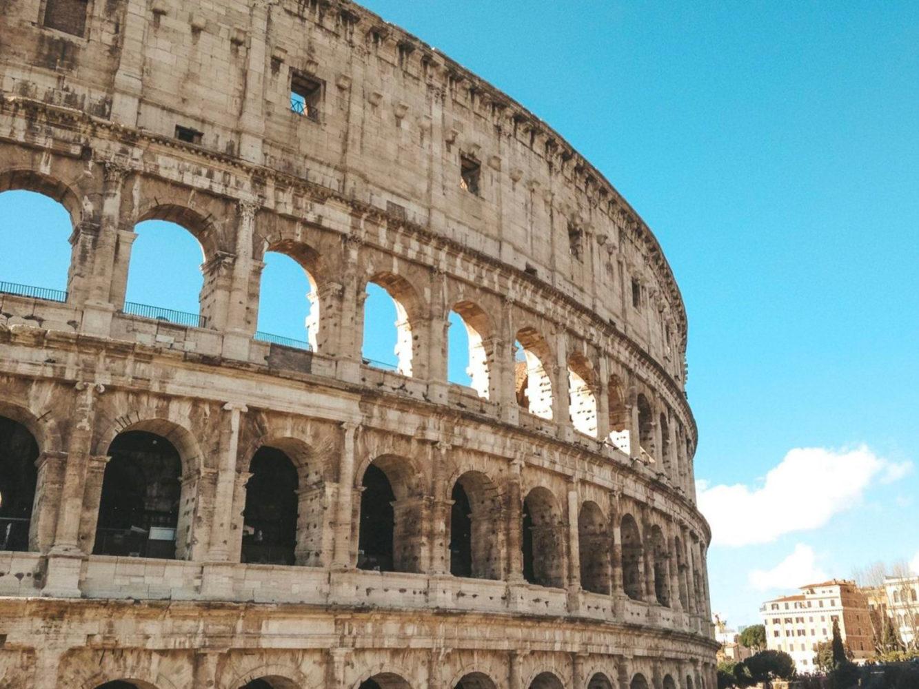 Aperçu du Colisée de Rome