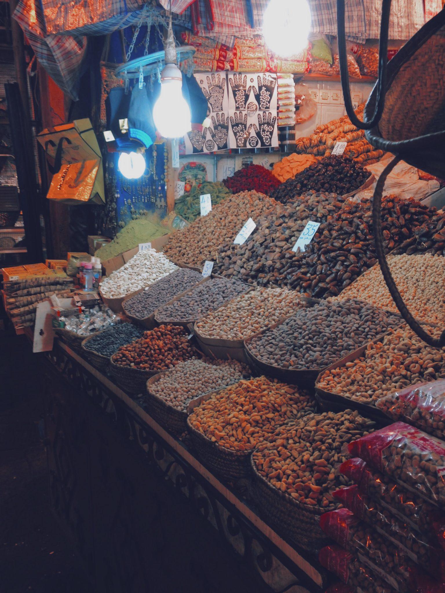 Marchand de fruits secs