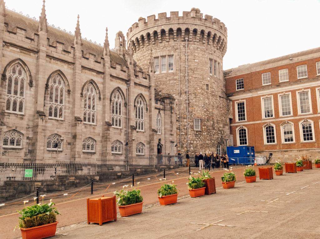 La Record Tower, seule tour médiévale de Dublin