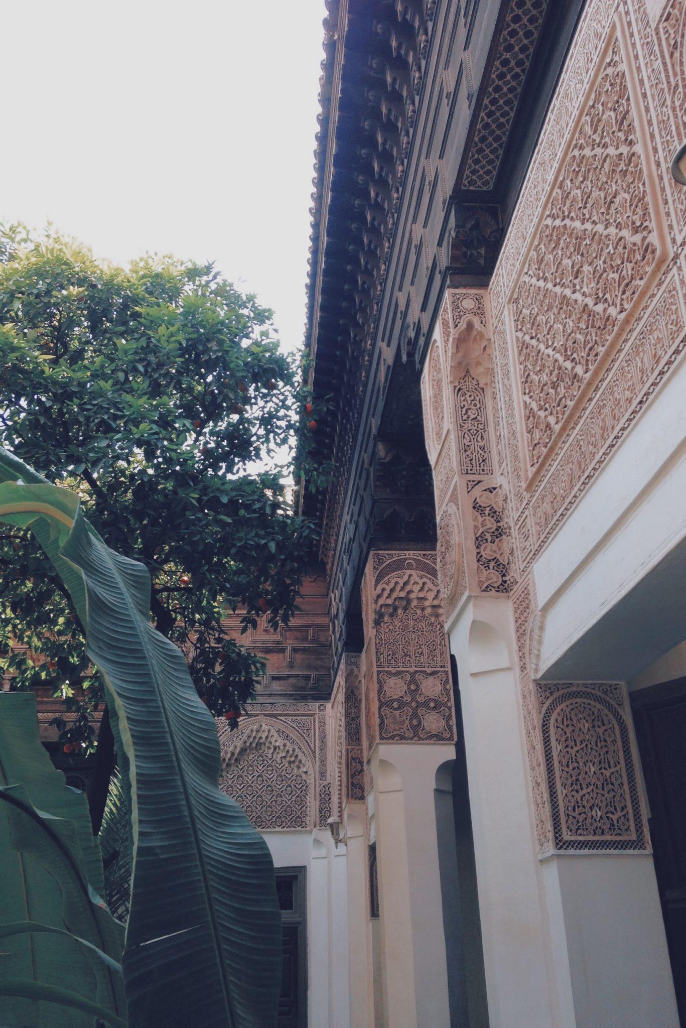 Les extérieurs du Palais