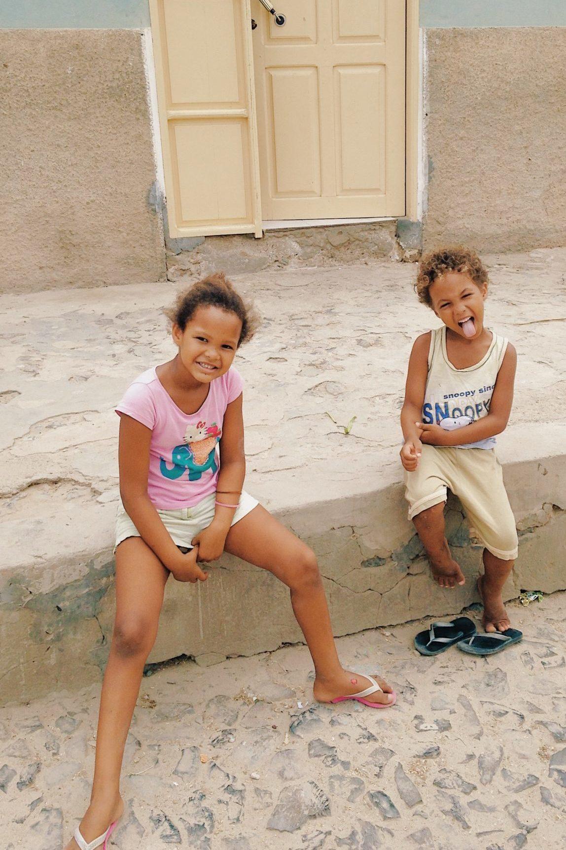 Le sourire des enfants
