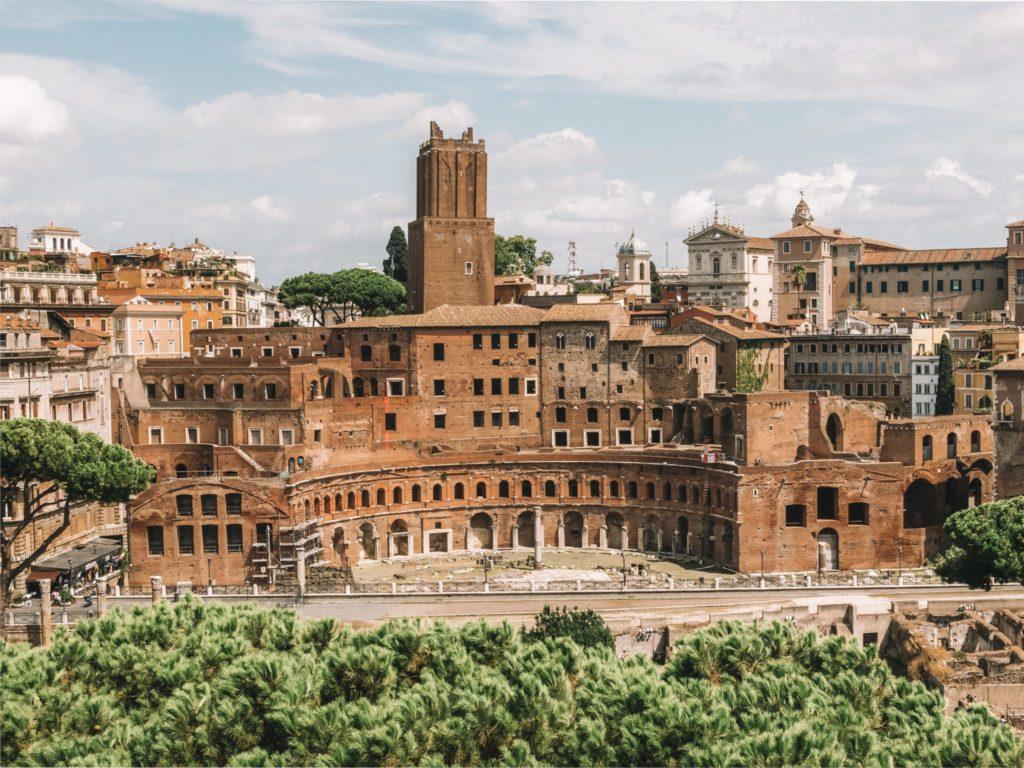 Les marchés de Trajan ont été restaurés récemment