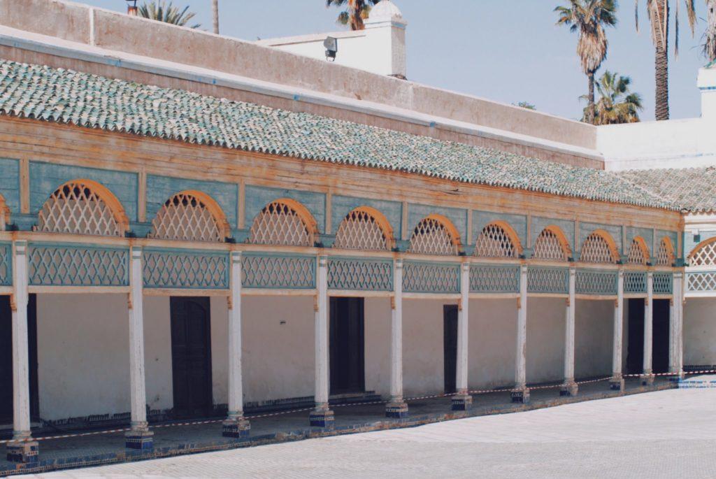 La magnifique cour du Palais Bahia