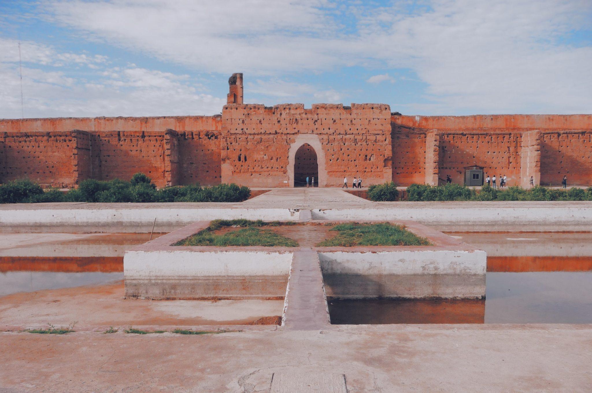 Façade du Palais El Badi
