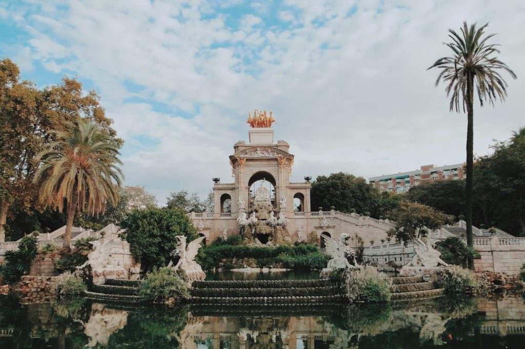 Ambiance bucolique au Parc de la Ciutadella de Barcelone