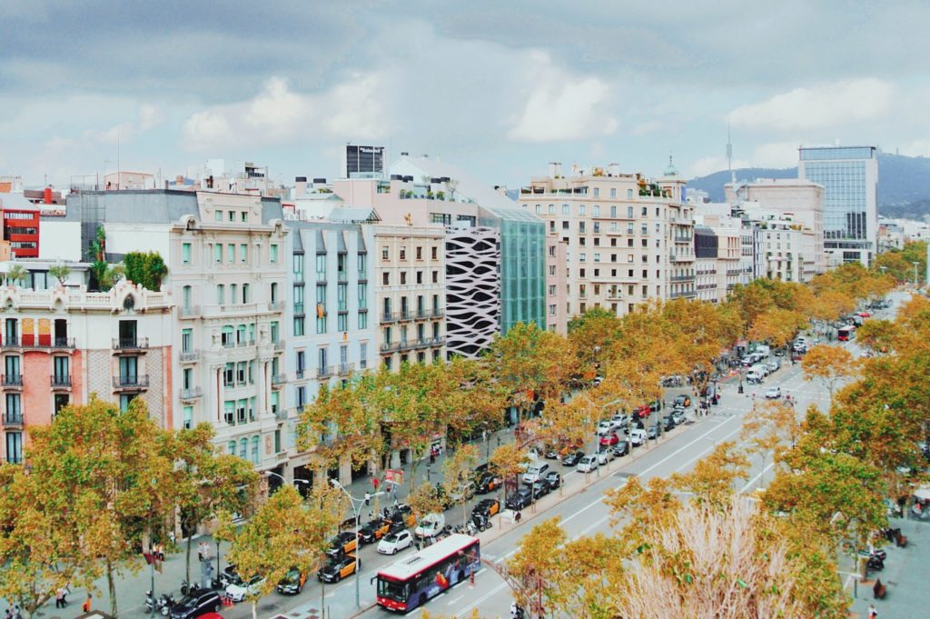 Une avenue pour faire du shopping par excellence