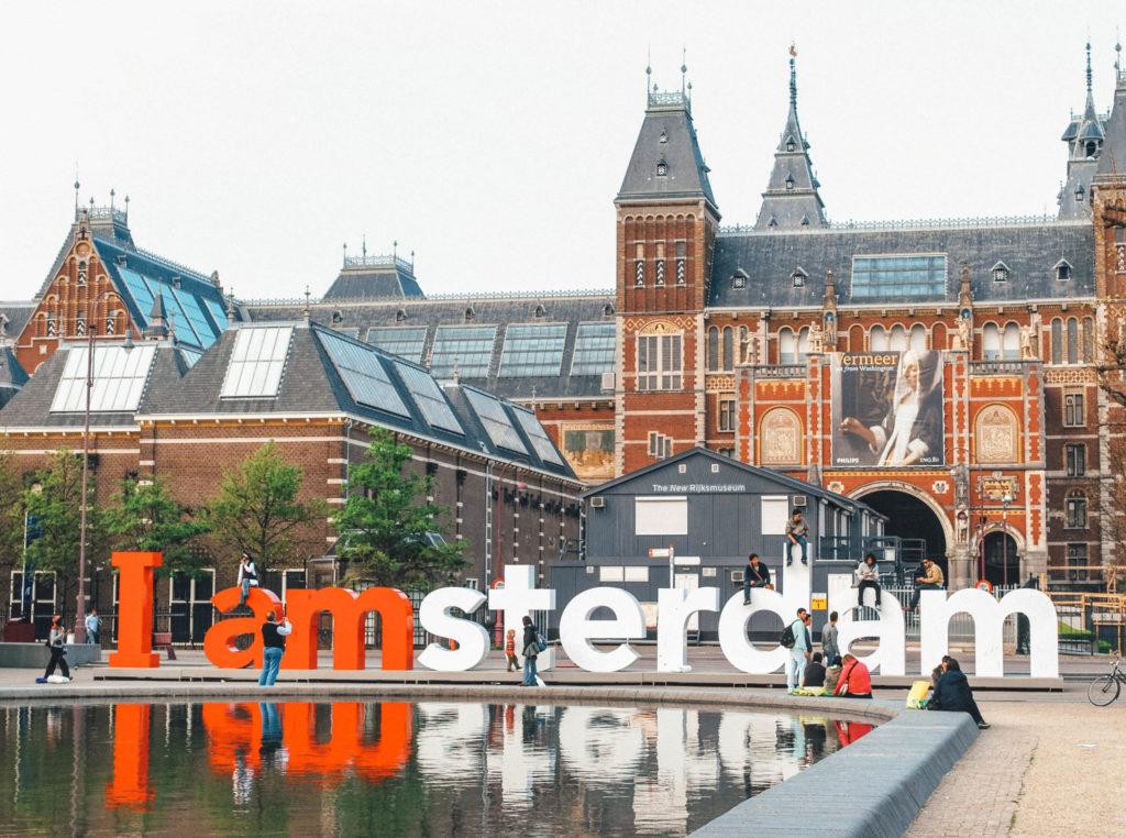 """Le célèbre logo """"I Amsterdam"""" retiré à la fin de l'année 2018"""
