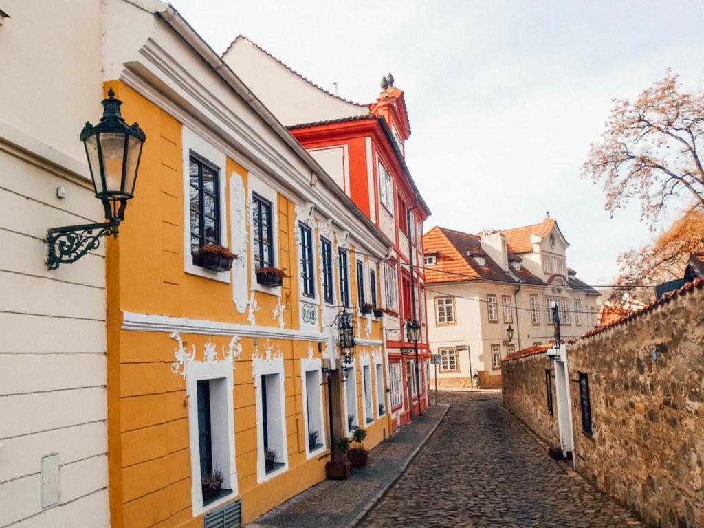 Les magnifiques ruelles colorées du quartier
