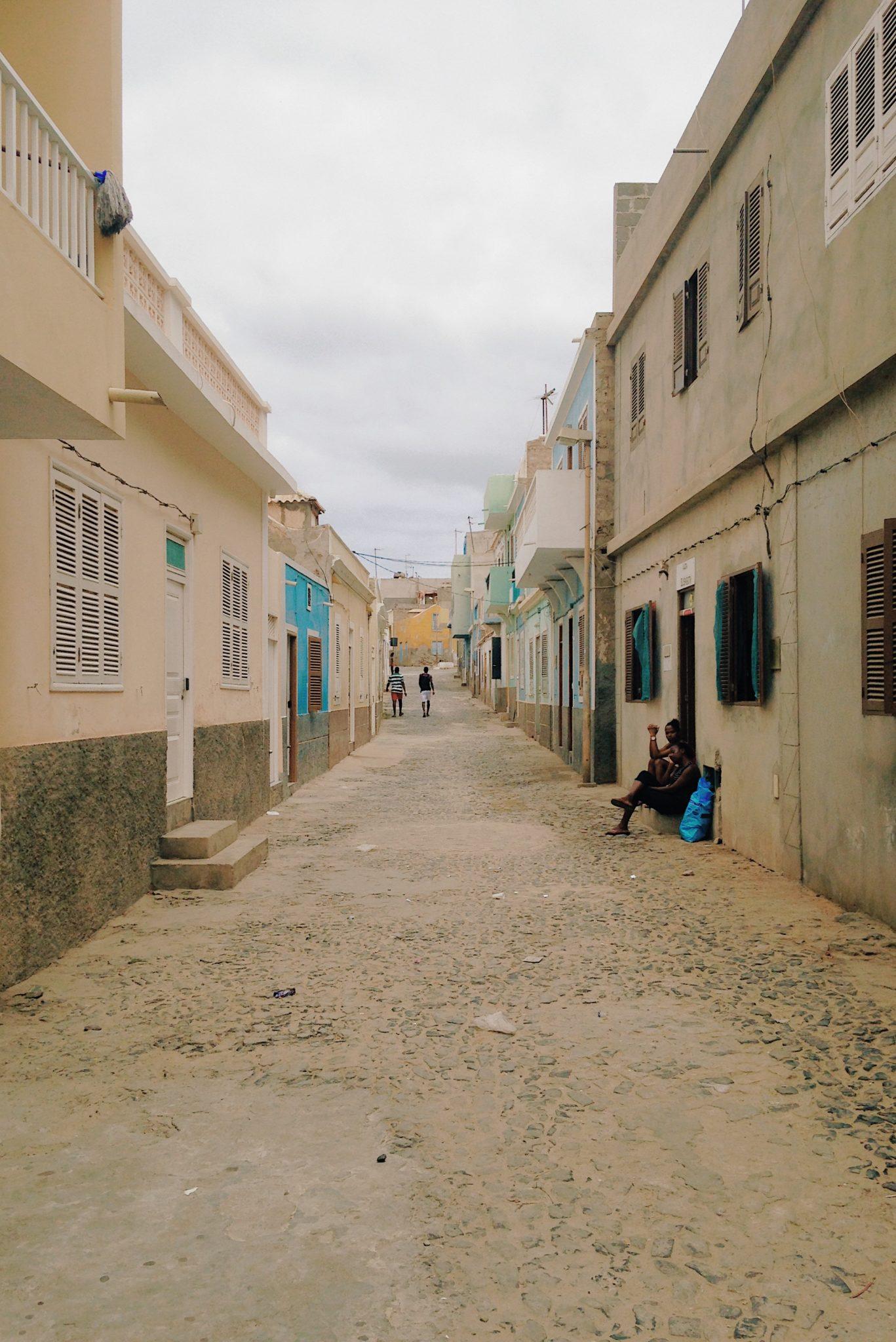 Une ruelle de Sal Rei