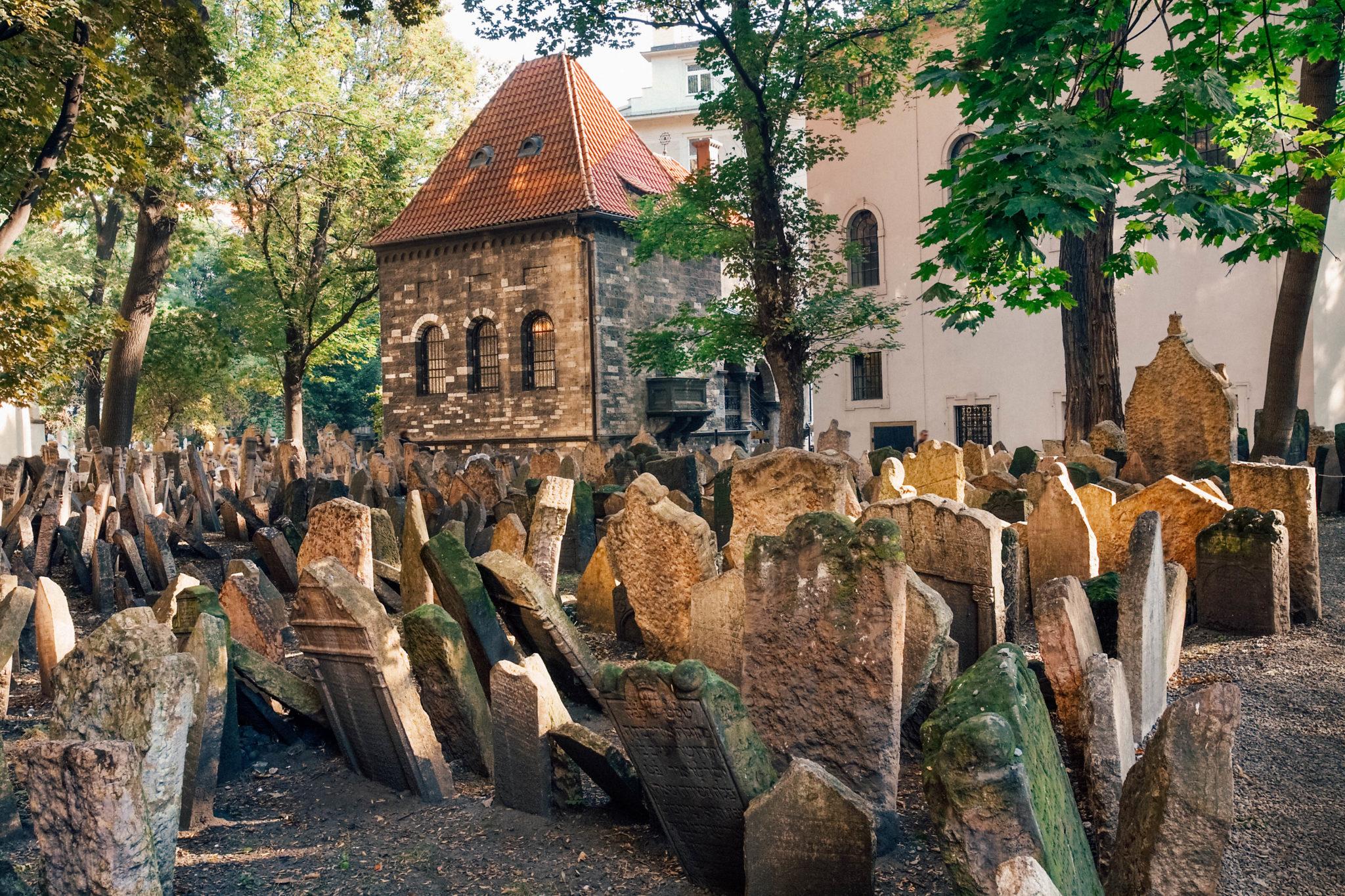 Vieux cimetière juive de Prague