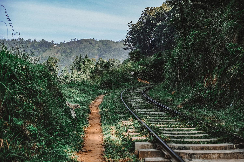 Balade sur la voie ferrée