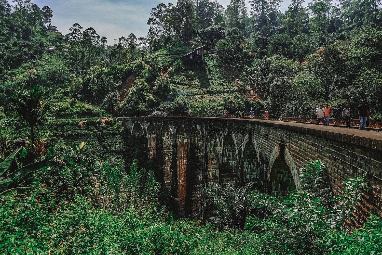 """Le pont """"Nine Arch Bridge"""", rendu célèbre par Instagram"""