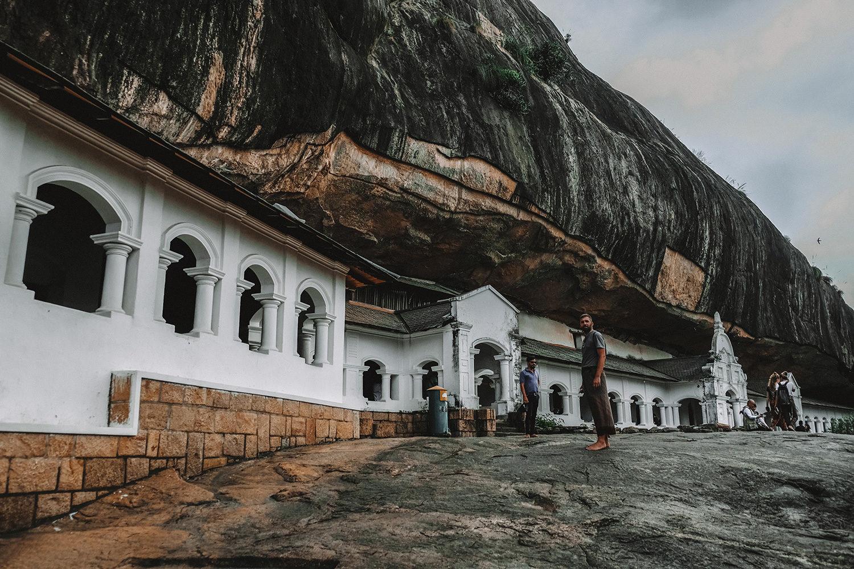"""Début de la visite des """"Cave Temple"""""""