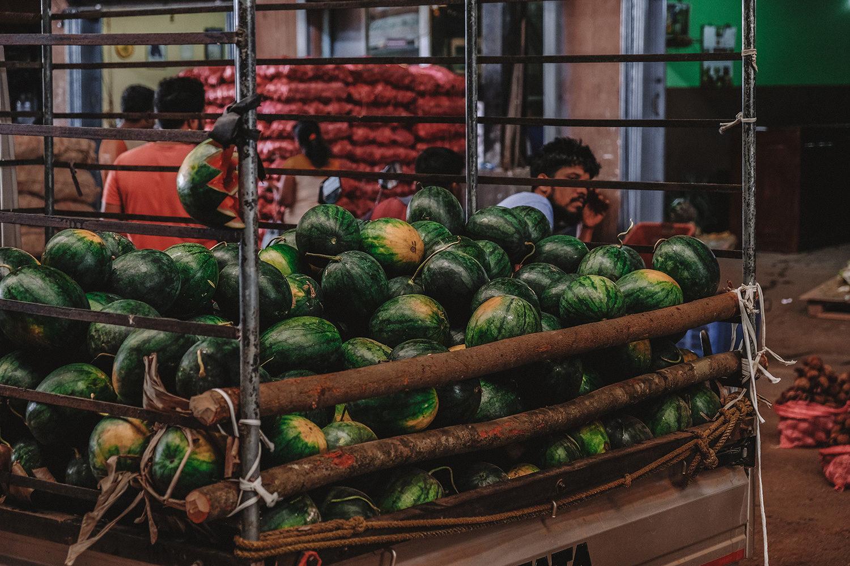 Livraison des pastèques bien sucrées et juteuses