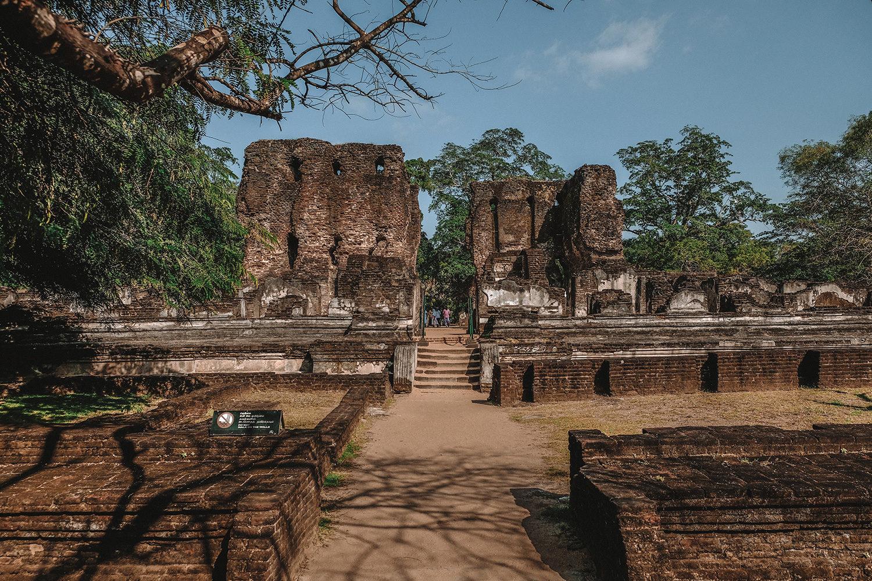A la découverte des ruines de Polonnaruwa
