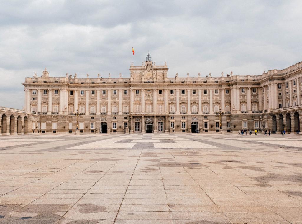 La cour intérieure du Palacio Real