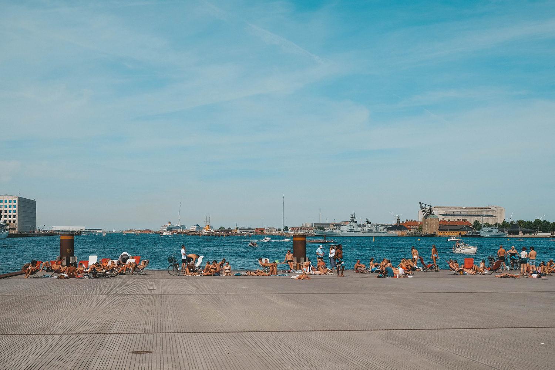 Lieu de détente pour les habitants de Copenhague
