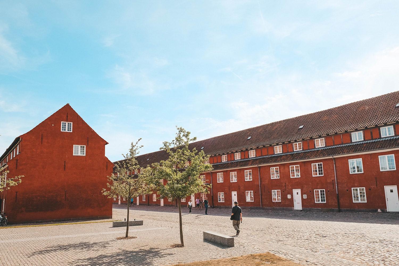 La citadelle Kastellet de Copenhague