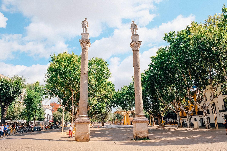 La Plaza de Santa Ana, lieu de la vie nocturne sévillane