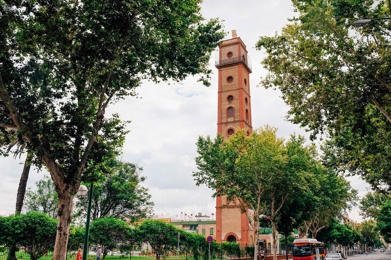 Vue sur la Torre de los Perdigones