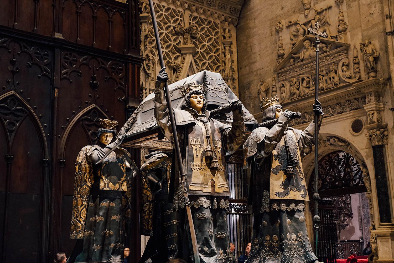 Monument à la gloire de l'explorateur Christophe Colomb