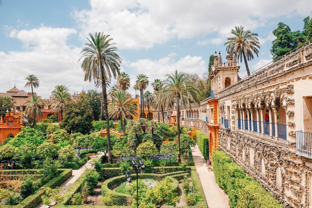 Les sublimes jardins de l'Alcázar