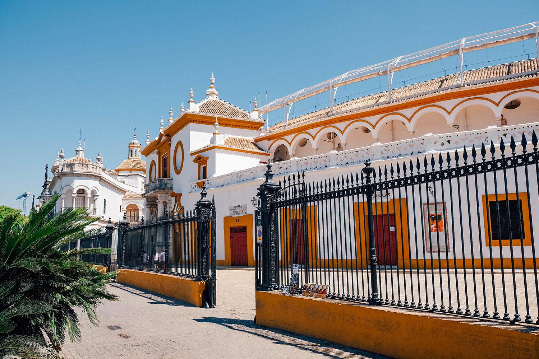 Les très belles arènes de Séville