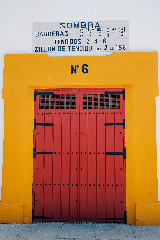 L'une des portes d'entrée des taureaux