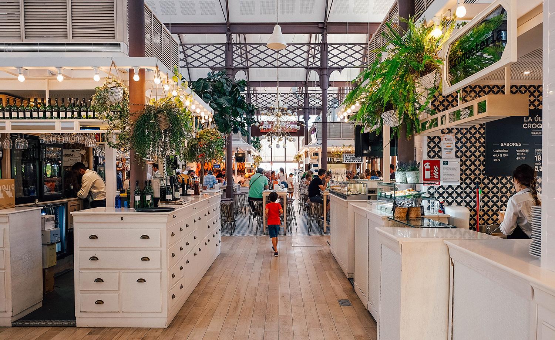 L'intérieur du Mercado del Barranco