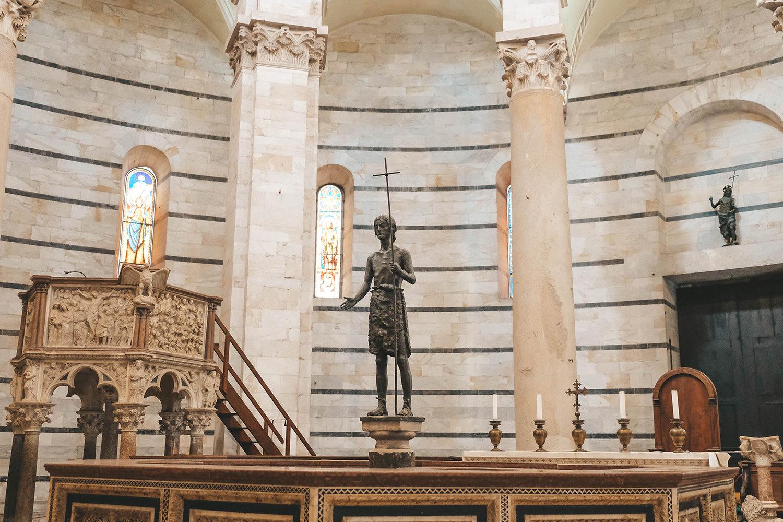 L'intérieur du Battistero Di San Giovanni