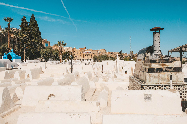 Le cimetière juif de Fès