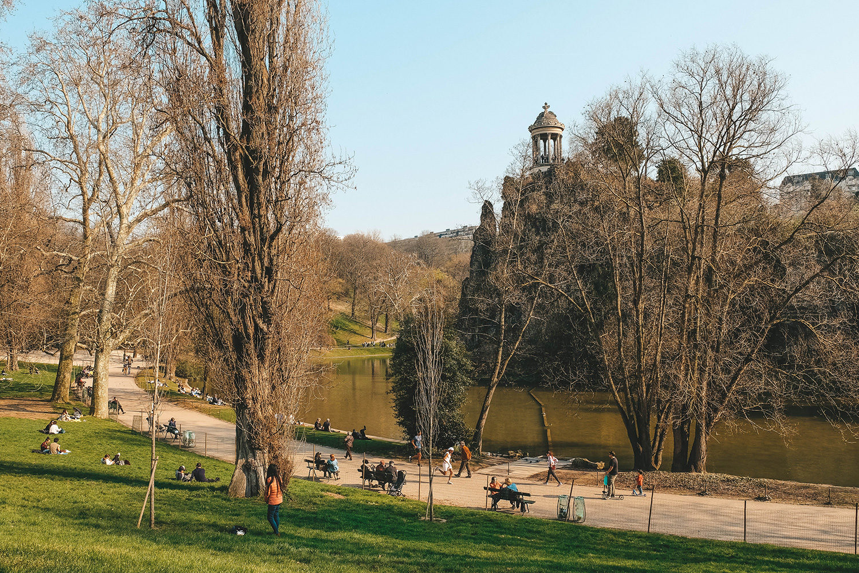 L'agréable parc des Buttes-Chaumont