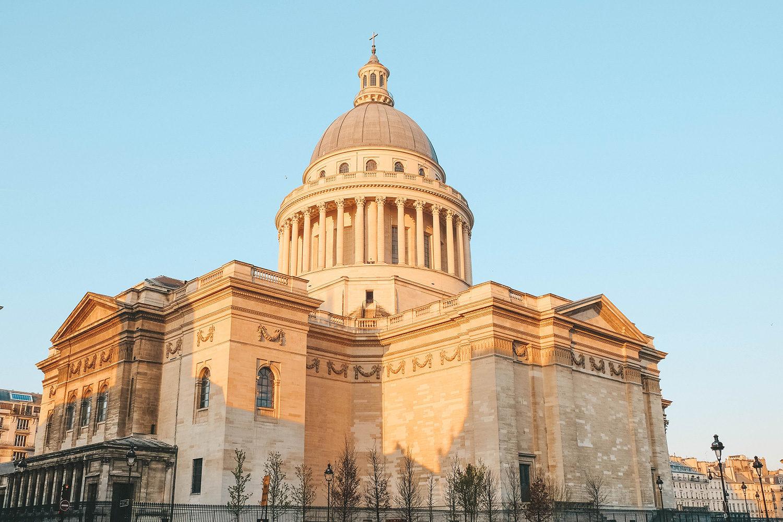 L'arrière du Panthéon