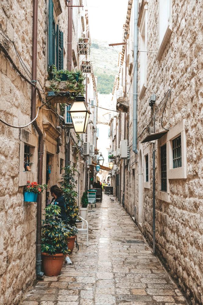 Charmante ruelle de la vieille ville
