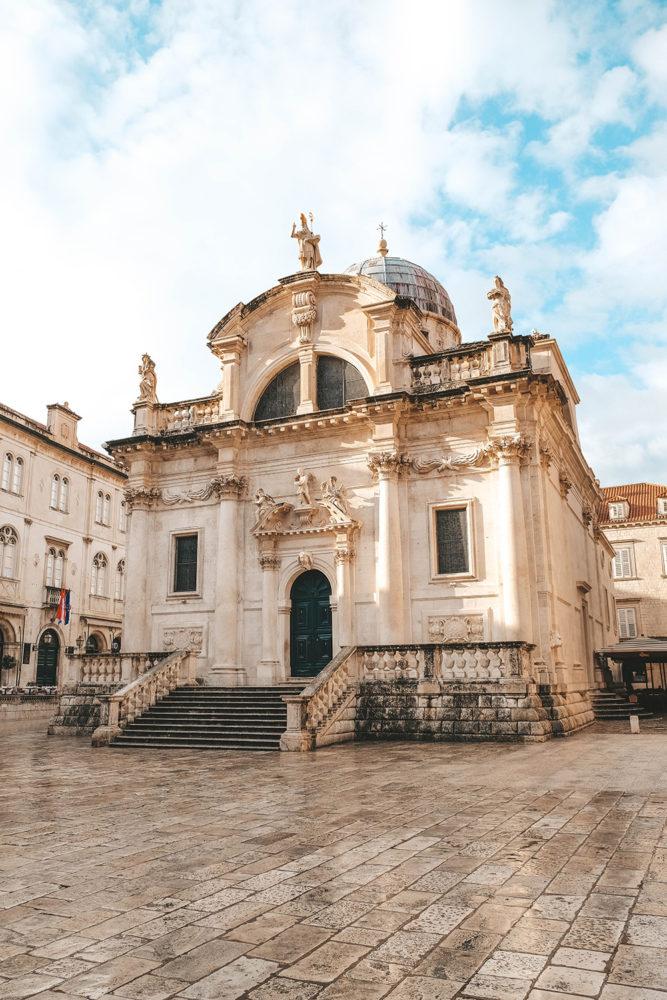 L'église Saint-Blaise de Dubrovnik