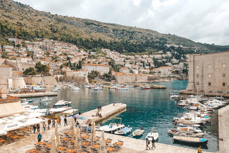 Le port de Dubrovnik